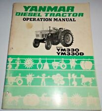 Heavy Equipment Manuals & Books for Yanmar Tractor for sale ... on yanmar alternator wiring, ignition switch diagram, diagram of a molded case switch diagram, yanmar ym2200 parts, yanmar starter, yanmar fuel pump diagram, yanmar voltage regulator, yanmar parts catalog, yanmar engine diagram, yanmar tractor, yanmar parts breakdown, yanmar generator, yanmar 3gm30f parts diagram, yanmar wire harness,