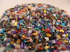 10,000 TINY TUMBLED POLISHED GEMS - 5 Lb Lots - Crafts, Jewelry, FREE SHIPPING