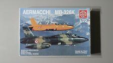New listing Supermodel 1/72 Plastic Model Kit Aermacchi MB-326K #10-012 Open Box Complete