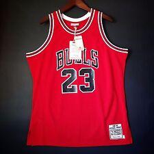 100% Authentic Michael Jordan Mitchell & Ness 85 86 NBA Bulls Jersey Size 48 XL