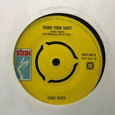 """ISAAC HAYES THEME FROM SHAFT / CAFE REGIO'S CLASSIC SOUL FUNK 7"""" VINYL"""