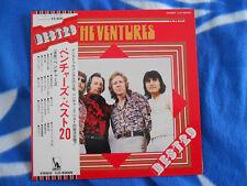 THE VENTURES. Lp 33T Vinyle Japan Edit 1974. BEST 20  . Stéréo LLS.90009.