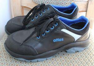 Atlas Arbeit Schuhe Sicherheitsschuhe S3 Größe 43 schwarz blau