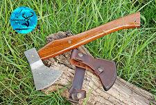 """16"""" Inch Hand Forged Damascus Steel Axe With Wood Handle - M 35"""