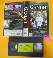 VHS film GANDHI Ben Kingsley Richard Attenborough COLUMBIA CC 01352(F112*)no dvd