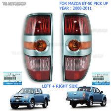 L+R Lens Tail Lamp Light Silver Genuine For Mazda Bt-50 XTR 2006 2007 2009 2011