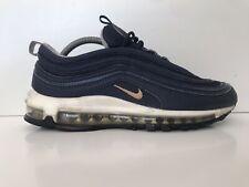 Nike AIR MAX 97 Midnight Navy matalic Scarpe da ginnastica oro misura 7 Regno Unito