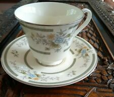 1981 Royal Doulton cup & saucer Duo England  ROMANCE ADRIENNE