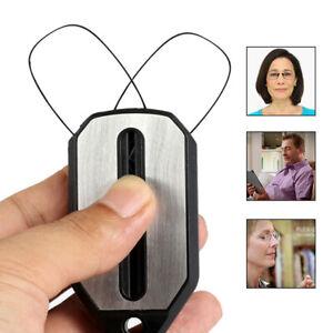 Flexible Mini Nose Clip Reading Glasses Foldable Ultra Thin Optics 1.0 2.0 3.0
