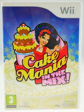 Cake Mania in the mix complètement dans neuf dans sa boîte-Nintendo Wii RAR-très bien