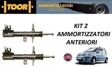 2 AMMORTIZZATORI ANTERIORI FIAT PANDA (169) 1.2 GPL NATURAL POWER (2003>2013)