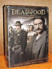 Deadwood - The Complete Second Season (DVD, 2006, 6-Disc Set) NEW Ian McShane