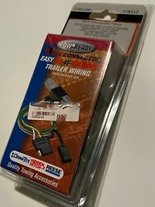 Trailer Tow Harness-Base TowReady 118312, SONOMA, SUBURBAN, JIMMY