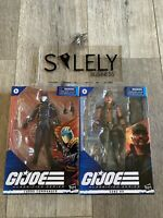 GI Joe Classified Wave 2 IN HAND COBRA COMMANDER and GUNG HO Brand New Fast Ship