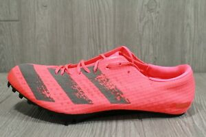 65 Adidas Adizero Prime Finesse Signal Pink Track Spikes EG6173 Mens 10-11.5