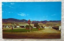 Postcard Suncrest Motel Salmon Idaho #S4