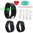 Fitness Smart Watch Wrist Band Bracelet Blood Pressure Oxygen Heart~Rate Monitor