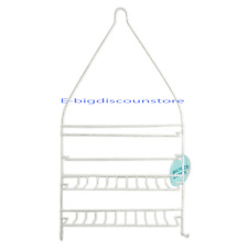 1X Shower Organizer Caddy Shelf Rack Holder Bathroom Shampoo Shelves Bath Head