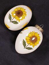 Egg Lady Sunflower 1 Ornament 1 Decorative Porcelain Glazed
