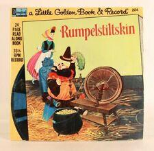 Acceptable! Rumpelstiltskin (Little Golden Book & 33 1/3 Record) Disneyland
