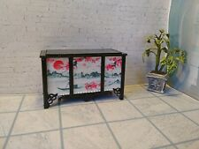 Box. Chest for doll stuff. Dresser in the Japanese style. Dollhouse miniature Do