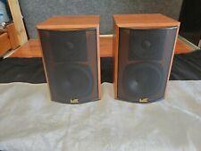 New listing Miller & Kreisel M&K SUR-550 THX Surround Speakers Cherry, Tested.