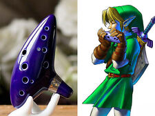 Anime Ocarina Alto C The Legend of Zelda: Blue Flute Ocarina Time Ocarinas toys