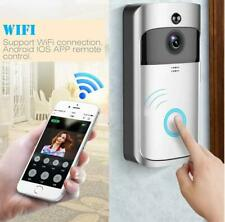 New Wireless Smart WiFi DoorBell IR Video Visual Camera Intercom Home Security