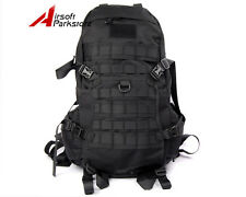 Tactical Military Molle 1000D Backpack Camping Hiking Assault Bag Rucksack Black