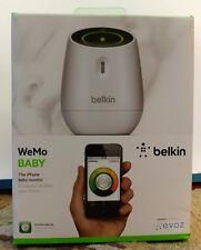 Belkin WeMo WIFI BABY Monitor F8J113bg NIB