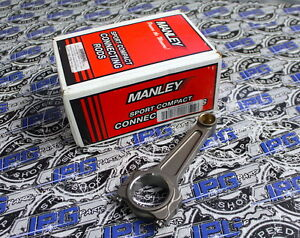 Manley Turbo Tuff I Beam Connecting Rods For 1999-00 Honda Civic Si B16A B16A2