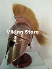Medieval Greek Corinthian Spartan Armour Helmet Antique Finish Halloween costume