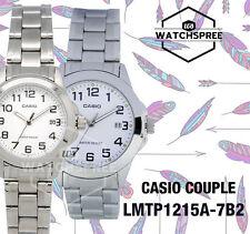 Casio Couple Watch LTP1215A-7B2 MTP1215A-7B2