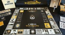 Chess Board Game. Chess Trivia. For Kids And Adults CHESS TRIVOPOLY LIMITED ITEM