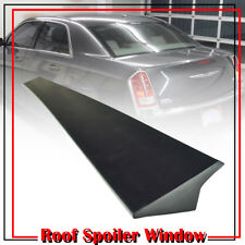 2011-2018 Sedan Unpaint For Chrysler 300 300C 2nd Rear Roof Spoiler Window Visor