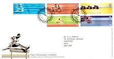 16 de Julio de 2002 Juegos de Commonwealth Royal Mail primer día cubierta mesa Shs