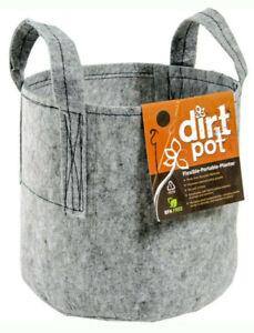 Hydrofarm - Dirt Pot With Handles - 7 Gallon (Lot of 6)