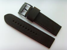 fossil ORIGINAL rechange bracelet en cuir jr1487 montre brun marron 24 mm