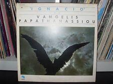 "VANGELIS PAPATHANASSIOU "" IGNACIO "" LP 1977 ITALY PRESS"