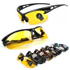 UV400 de visión nocturna ciclismo Andar en conducción Gafas Deportes Gafas de sol Gafas Nuevo