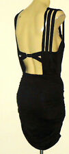 BETTINA LIANO BlackStretchStrappyKeyholePartySz8NWoT