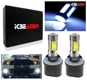 x2 LED 880 884 885 892 893 899  SMDs Fog Light Bulb 6000K Super White W166
