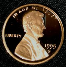 1995-S San Francisco Mint Lincoln Memorial Cent Proof