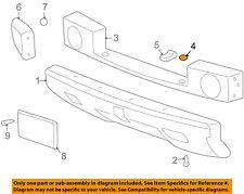 Hummer GM OEM 03-09 H2 Front Bumper-Upper Cover Plug 15176944