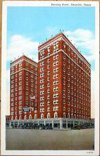 1930s Postcard: Herring Hotel - Amarillo, Texas Tx