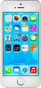 Apple iPhone 5s - 64GB - Silver (Verizon) A1533 (CDMA + GSM)