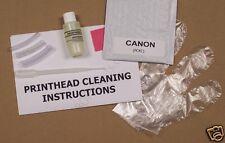 Unblock Print Head Nozzles for Canon. Printer Cleaning Kit Cleaner Flush (PCKC)