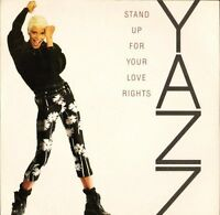 """YAZZ stand up for your love rights BLR 5 uk big life 7"""" PS EX/EX"""