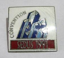 Great Advertising Pin Badge Event Sedus 1991 Convention enamel