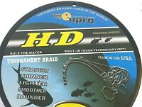 "EUPRO ""HD"" PREMIUM TOURNAMENT BRAIDED LINE - DESIGNED FOR CASTING GREEN - GREEN"